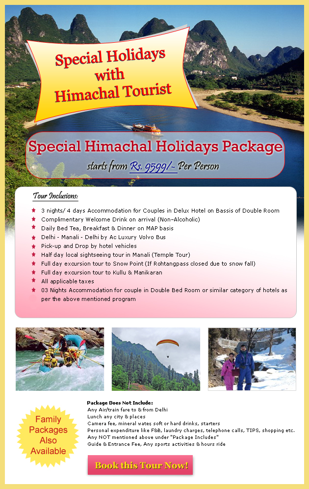 Summer Special Package - Manali